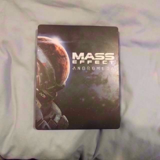 Limited Edition Mass Effect Andromeda Ps4 Game And Steel Case! Free Shipping!