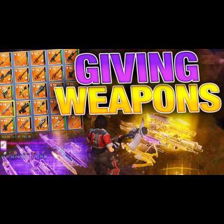 I will give u guns  #2