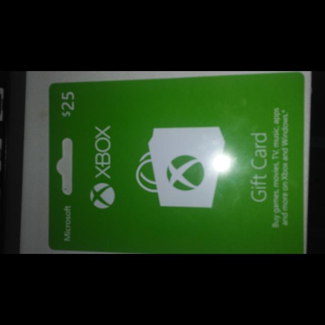 Xbox Gift Card Code