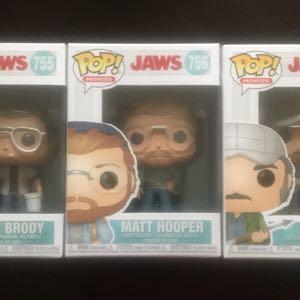 Funko POP! Chief Brody #755 Matt Hooper #756 Quint #757 JAWS Exclusives NEW!