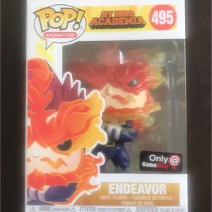 Funko POP! ENDEAVOR #495 My Hero Academia NEW!