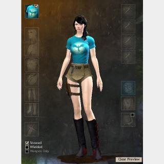 Ascended Aurene Outfit Guild Wars 2 + 400 Gems
