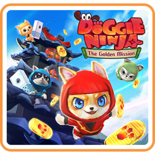 Doggie Ninja The Golden Mission - Switch NA - FULL GAME