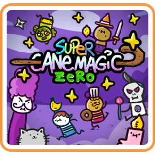 Super Cane Magic ZERO (Early Access) - Switch NA - FULL GAME - Instant