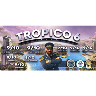 Tropico 6 Steam Key Instant - FULL GAME
