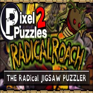 Pixel puzzles 2 - Radical roach