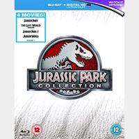 Jurassic Park - 4 Movie Collection - Digital HD - Instant Transfer