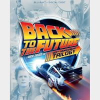 Back to the Future Trilogy - HD Codes - iTunes & UV - Instant Transfer