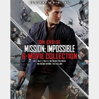 Mission: Impossible - 6 Film Collection - HD Digital - Instant Transfer