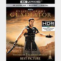 Gladiator - 4K UHD Digital Code - Instant Transfer