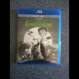 FRANKENWEENIE - BLU-RAY + DVD