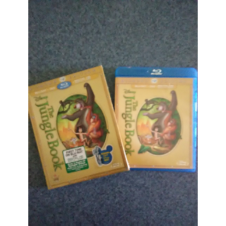 THE JUNGLE BOOK - DVD (Blu-Ray case with DVD only)