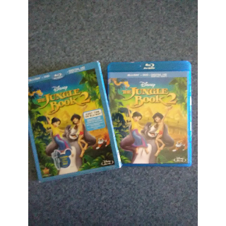 THE JUNGLE BOOK 2 - DVD (Blu-Ray case with DVD only)