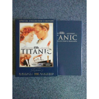 TITANIC: SPECIAL COLLECTOR'S EDITION (includes a rarely seen alternate ending) - DVD