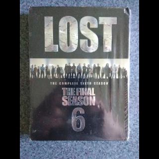 LOST: SEASON 6 (new & unopened)