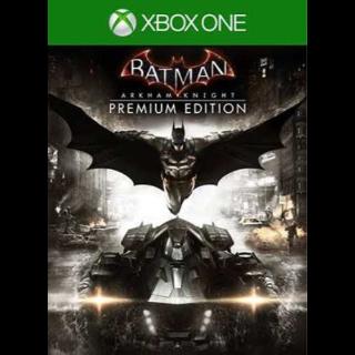 Batman: Arkham Knight Premium Edition Xbox One Digital Code (US) - 𝓐𝓾𝓽𝓸 𝓓𝓮𝓵𝓲𝓿𝓮𝓻𝔂