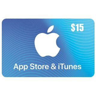 $15.00 iTunes (US)