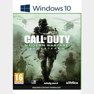 Call of Duty®: Modern Warfare® Remastered Windows 10 PC Digital Code (AR - Argentina) - 𝓐𝓾𝓽𝓸 𝓓𝓮𝓵𝓲𝓿𝓮𝓻𝔂