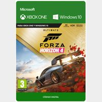 Forza Horizon 4 Ultimate Edition Xbox One and Windows 10 PC Digital Code (AR - Argentina) - 𝓐𝓾𝓽𝓸 𝓓𝓮𝓵𝓲𝓿𝓮𝓻𝔂