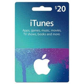 $20.00 iTunes US - 𝓐𝓾𝓽𝓸 𝓓𝓮𝓵𝓲𝓿𝓮𝓻𝔂