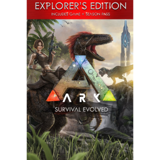 ARK: Survival Evolved Explorer's Edition Xbox One and Windows 10 PC Digital Code (AR - Argentina) - 𝓐𝓾𝓽𝓸 𝓓𝓮𝓵𝓲𝓿𝓮𝓻𝔂