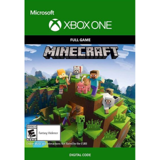 Minecraft Xbox One Digital Code (AR - Argentina) - 𝓐𝓾𝓽𝓸 𝓓𝓮𝓵𝓲𝓿𝓮𝓻𝔂