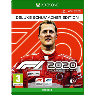 F1® 2020 Deluxe Schumacher Edition Xbox One Digital Code (AR - Argentina) - 𝓐𝓾𝓽𝓸 𝓓𝓮𝓵𝓲𝓿𝓮𝓻𝔂