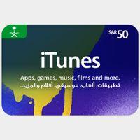 50 iTunes SAR -  𝓐𝓾𝓽𝓸 𝓓𝓮𝓵𝓲𝓿𝓮𝓻𝔂