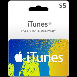 $5 iTunes US - 𝓐𝓾𝓽𝓸 𝓓𝓮𝓵𝓲𝓿𝓮𝓻𝔂