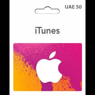 $50 iTunes AED - 𝓐𝓾𝓽𝓸 𝓓𝓮𝓵𝓲𝓿𝓮𝓻𝔂