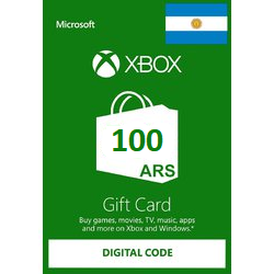 $100.00 ARS Xbox Gift Card - 𝓐𝓾𝓽𝓸 𝓓𝓮𝓵𝓲𝓿𝓮𝓻𝔂