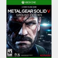 METAL GEAR SOLID V: GROUND ZEROES Xbox One Digital Code (AR - Argentina) - 𝓐𝓾𝓽𝓸 𝓓𝓮𝓵𝓲𝓿𝓮𝓻𝔂