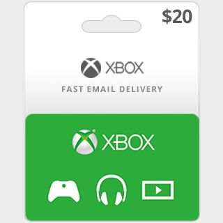 $20.00 Xbox Gift Card (US)