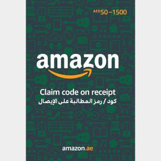 50.00 AED Amazon (UAE)