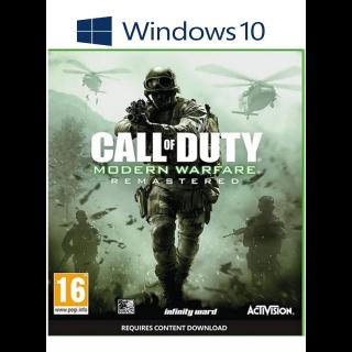 Call of Duty®: Modern Warfare® Remastered Windows 10 PC Digital Code (AR) - 𝓐𝓾𝓽𝓸 𝓓𝓮𝓵𝓲𝓿𝓮𝓻𝔂