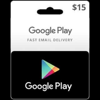 $15.00 Google Play (US) - 𝓐𝓾𝓽𝓸 𝓓𝓮𝓵𝓲𝓿𝓮𝓻𝔂