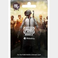 PUBG Mobile 190 UC (Global) - 𝓐𝓾𝓽𝓸 𝓓𝓮𝓵𝓲𝓿𝓮𝓻𝔂