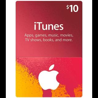 $10.00 iTunes US - 𝓐𝓾𝓽𝓸 𝓓𝓮𝓵𝓲𝓿𝓮𝓻𝔂