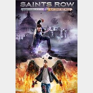 Saints Row IV: Re-Elected & Gat out of Hell (AR - Argentina) - 𝓐𝓾𝓽𝓸 𝓓𝓮𝓵𝓲𝓿𝓮𝓻𝔂