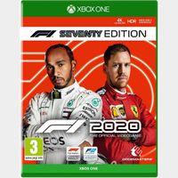 F1® 2020 F1® Seventy Edition Xbox One Digital Code (AR - Argentina) - 𝓐𝓾𝓽𝓸 𝓓𝓮𝓵𝓲𝓿𝓮𝓻𝔂