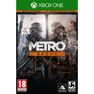Metro Redux Bundle Xbox One Digital Code (AR) - 𝓐𝓾𝓽𝓸 𝓓𝓮𝓵𝓲𝓿𝓮𝓻𝔂