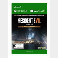 RESIDENT EVIL 7 biohazard Gold Edition Xbox One and Windows 10 PC Digital Code (AR) - 𝓐𝓾𝓽𝓸 𝓓𝓮𝓵𝓲𝓿𝓮𝓻𝔂