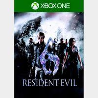 Resident Evil 6 Xbox One Digital Code (AR - Argentina) - 𝓐𝓾𝓽𝓸 𝓓𝓮𝓵𝓲𝓿𝓮𝓻𝔂