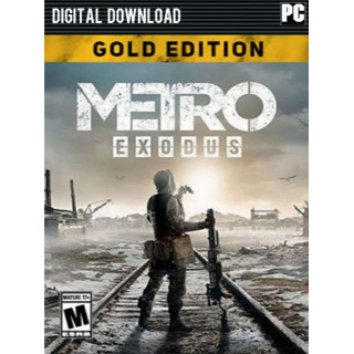 Metro Exodus Gold Edition Windows 10 PC Digital Code (AR - Argentina) - 𝓐𝓾𝓽𝓸 𝓓𝓮𝓵𝓲𝓿𝓮𝓻𝔂