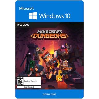 Minecraft Dungeons Hero Edition Windows 10 PC Digital Code (AR - Argentina) - 𝓐𝓾𝓽𝓸 𝓓𝓮𝓵𝓲𝓿𝓮𝓻𝔂
