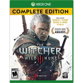 The Witcher 3: Wild Hunt – Complete Edition Xbox One Digital Code (AR) - 𝓐𝓾𝓽𝓸 𝓓𝓮𝓵𝓲𝓿𝓮𝓻𝔂