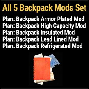 Plan | all 5 backpack mods USA