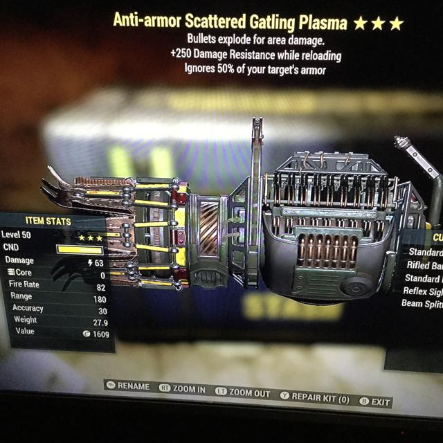 Weapon | AAE Gatling plasma