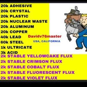 Junk | 220k junk & stable flux