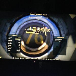 Weapon   mutant Tesla ffr 1A